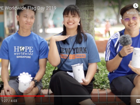Reflections On HOPE Worldwide Flag Day 2019