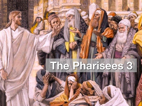 The Pharisees 3 - Setting Ourselves Above Others