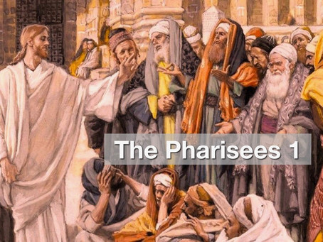The Pharisees 1 - Who Were The Pharisees?