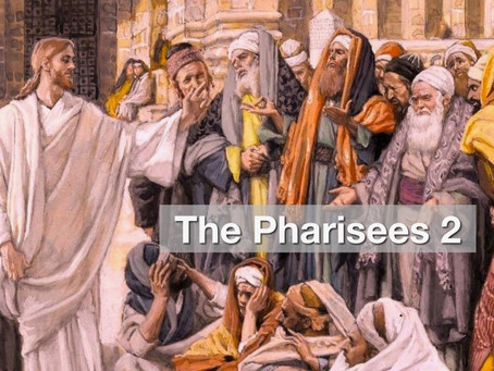 The Pharisees 2 - The Pharisee In Me