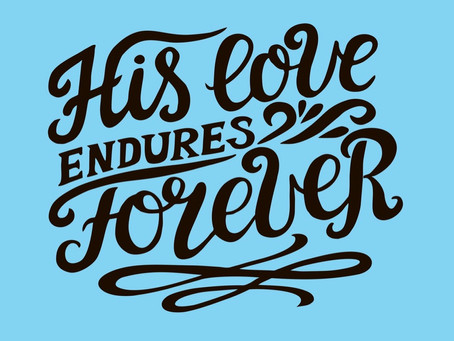 The Enduring Love Of Jesus