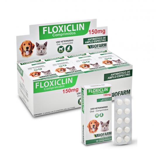 Floxiclin Comprimido 50 e 150 mg