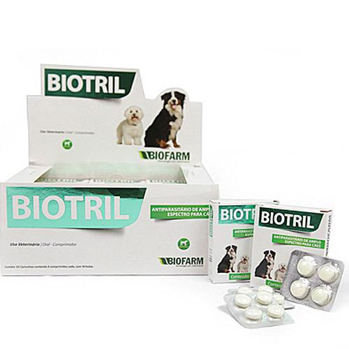 Biotril Comprimido Antiparasitário