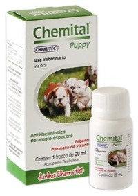 Vermífugo Chemital Puppy