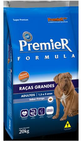 Ração Premier Pet Fórmula Cães Adultos Raças Grandes e Gigantes Frango