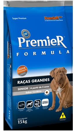 Ração Premier Pet Fórmula Cães Sênior Raças Grandes