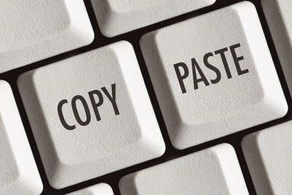 Did You Copy and Paste Your Data?