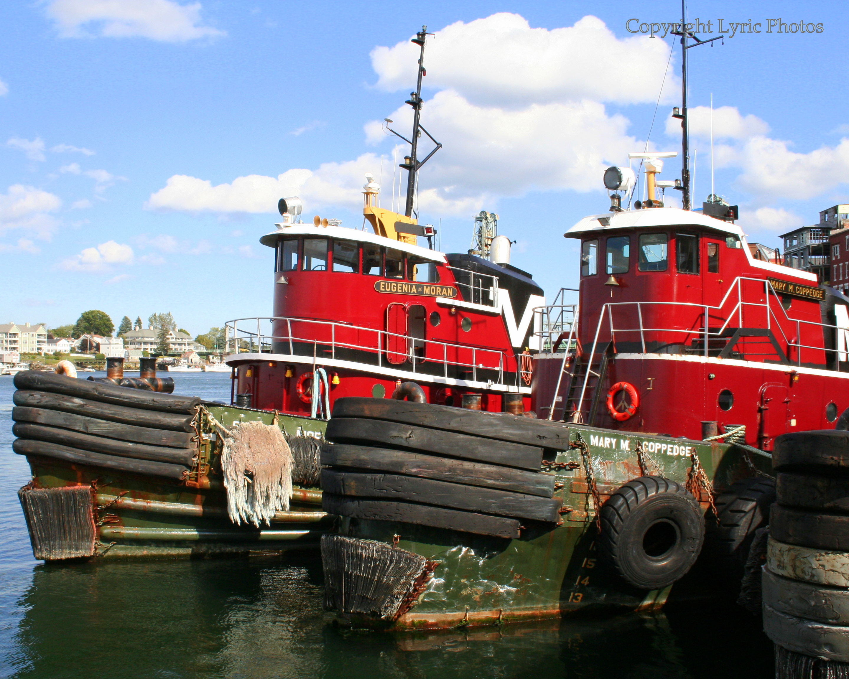Tug Boats Portsmouth NH photograph