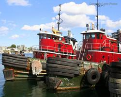 Tug Boats Portsmouth NH photograph