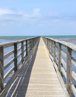 boardwalk gray's beach dennis photo