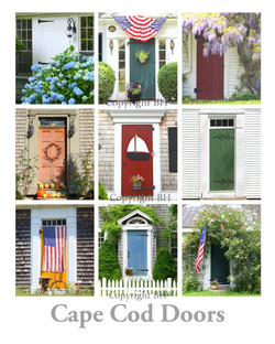 cape cod doors poster new england