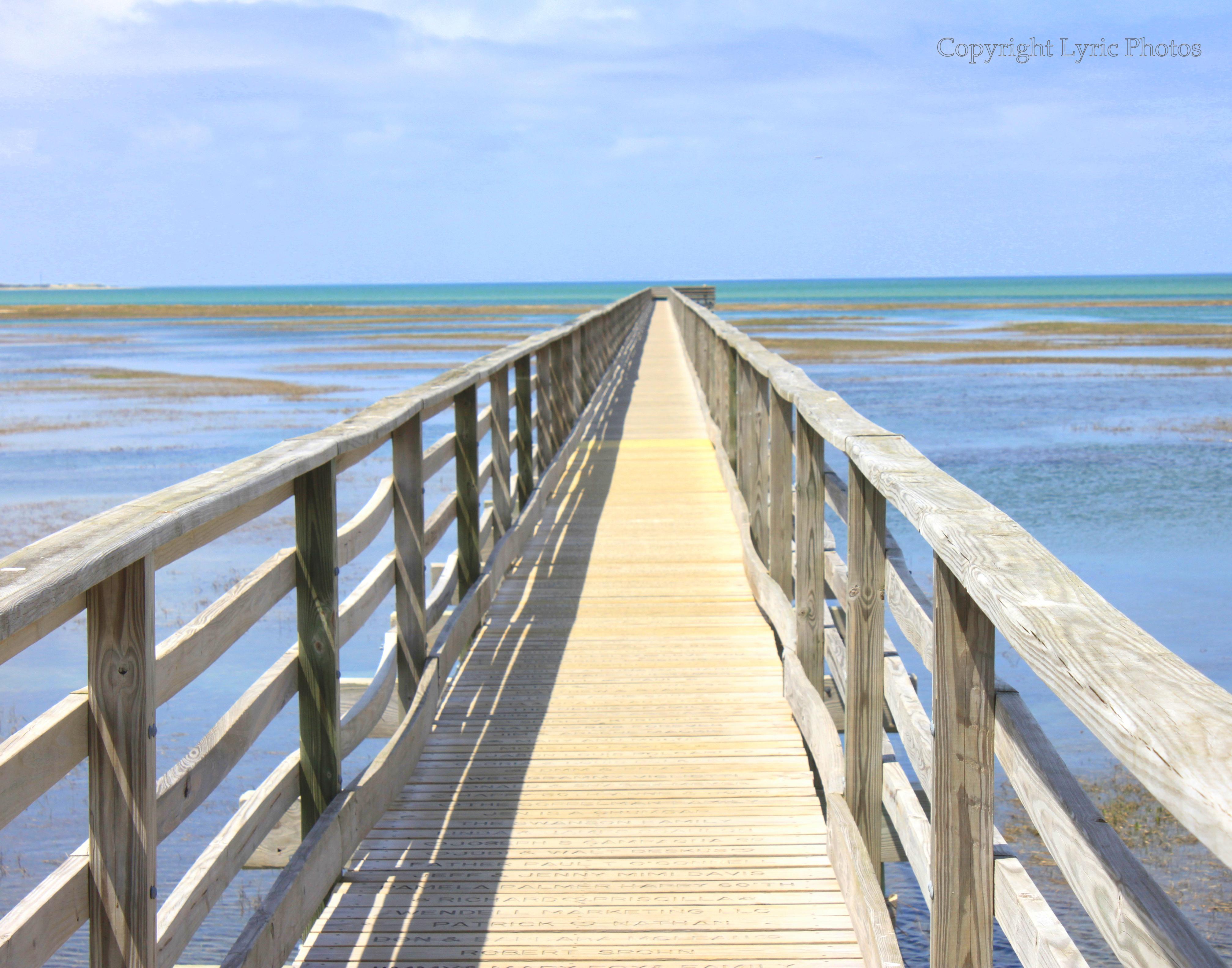 boardwalk dennis ma cape cod photo