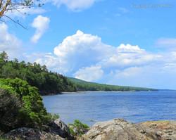 camden maine coast photograph ocean