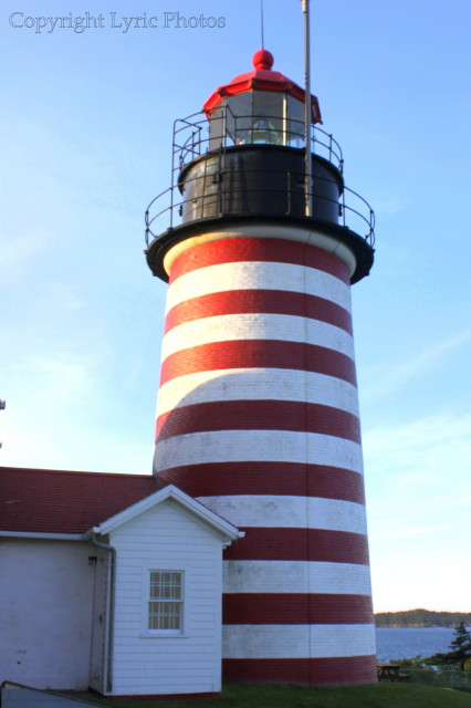 Lighthouses photographs West Quoddy