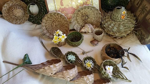 Coconut Tiered Baskets