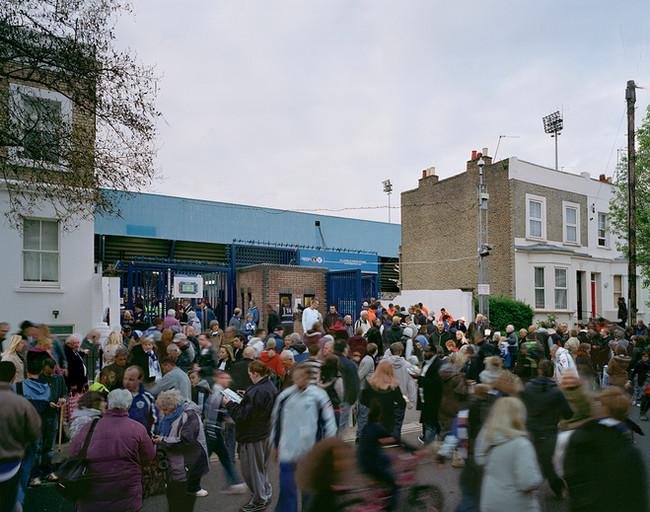 Ellerslie Rd QPR Queens Park Rangers Football Fans