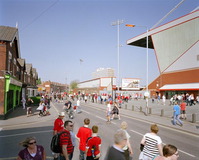 Gresty Road Crewe Alexander FC Football Fans