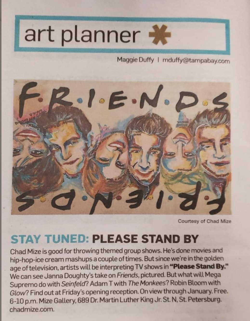 Jspired Art in the news