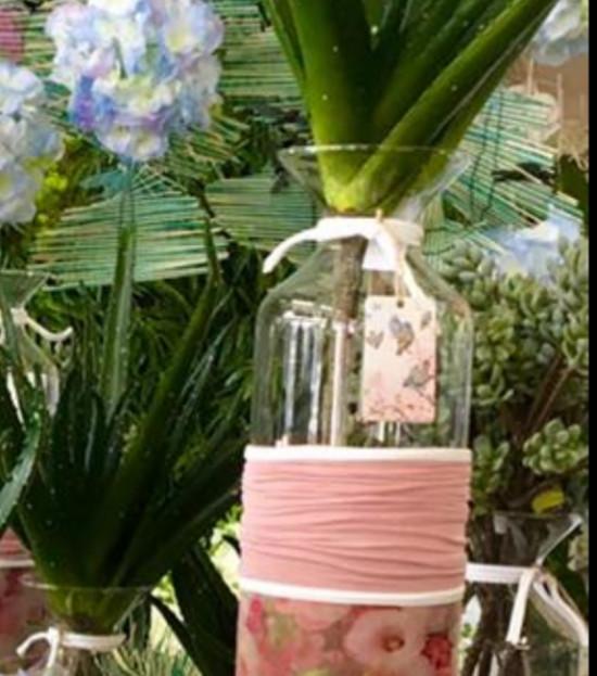 Vase Tropical Rose Poudré
