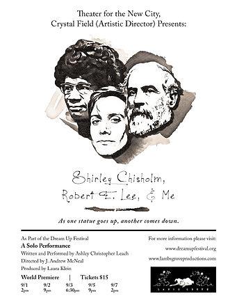 Shirley Chisholm, Robert E. Lee, & Me Pu