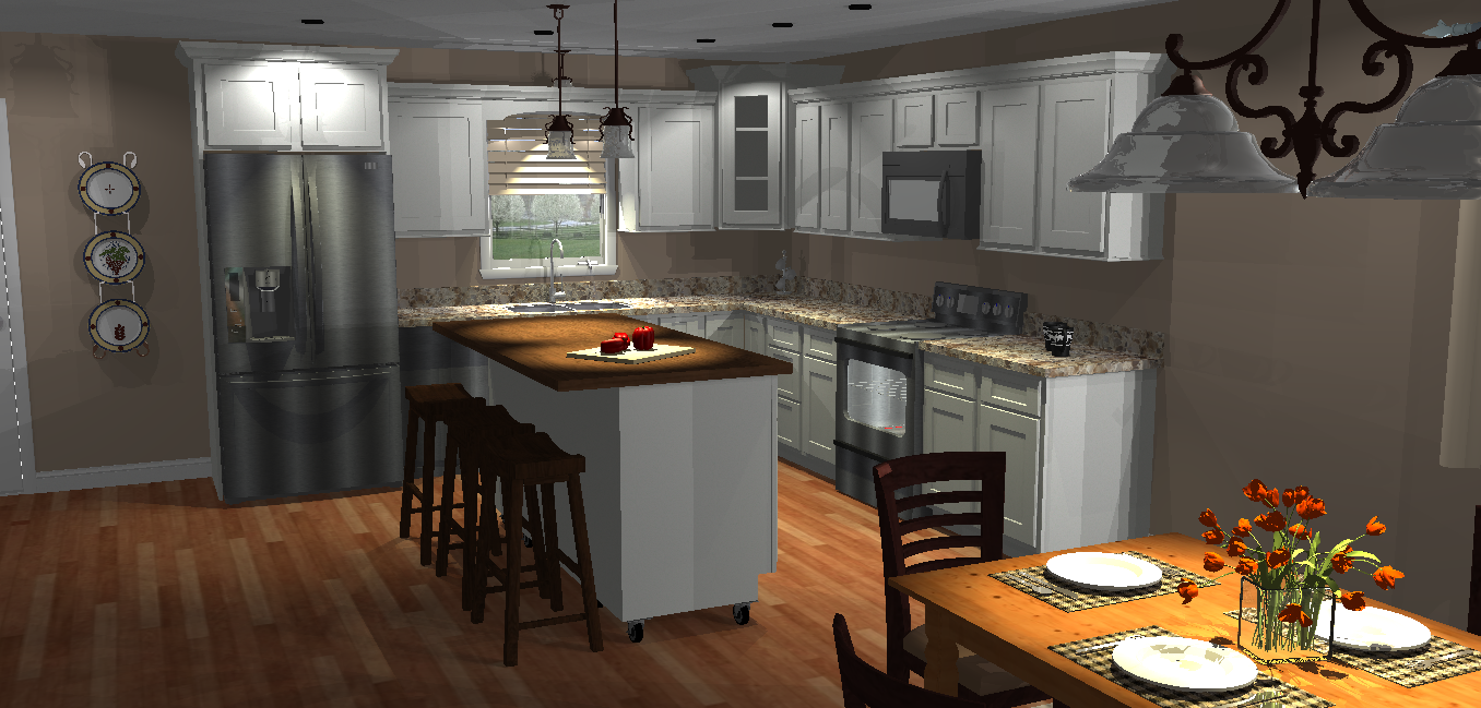 Builders Classic White Cabinets