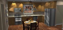 Shiloh Hickory Cabinets