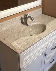 Pickerington, ohio cultured marble vanity
