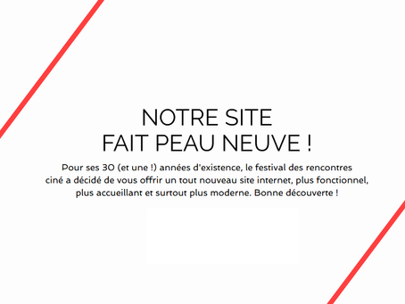 Nouveau Site Internet, Nouveau Cinéma
