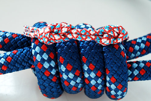 H8KNOT tricolor double knots