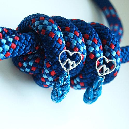 H8KNOT blue heart