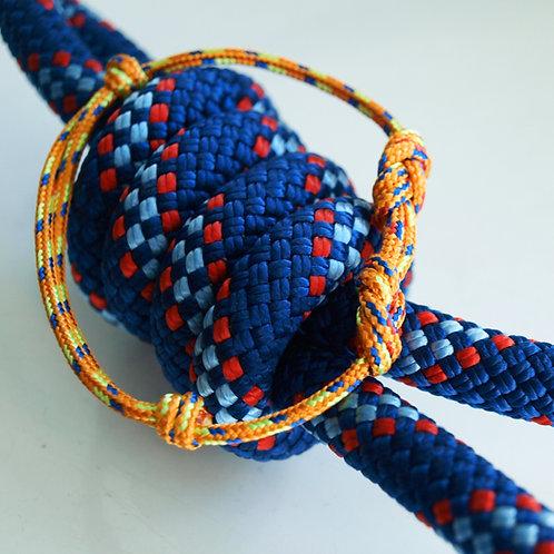 H8KNOT orange double knots