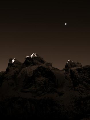 Dolomiti by night
