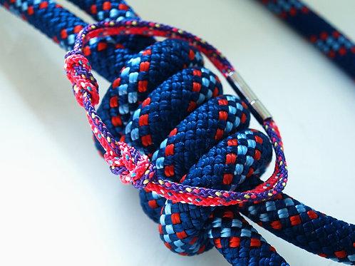 H8KNOT fucsia&purple double knots