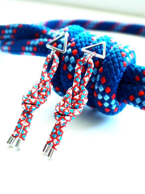 H8KNOT tricolor triangle (long)