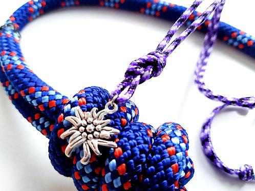 H8KNOT violet necklace