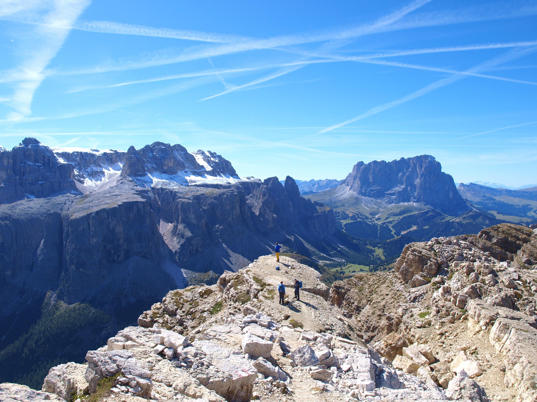Panorama mozzafiato dal Sass Ciampac