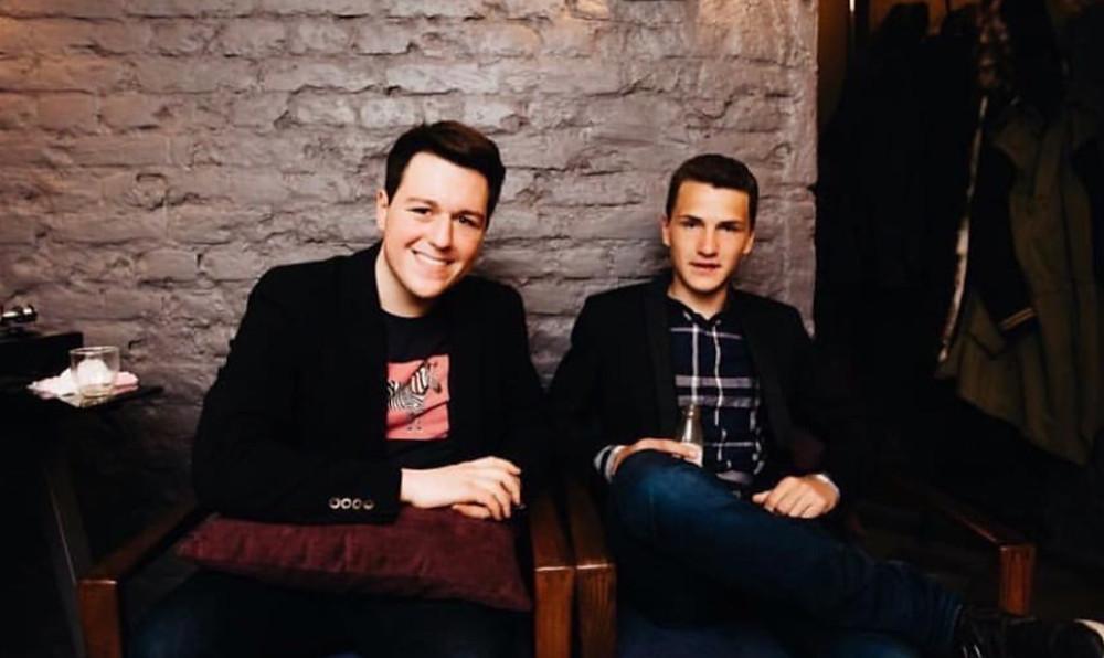Совладельцы заведения Денис Автушенко (слева) и Марк Гинзбург