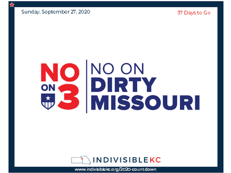 Learn more about how MO Amendment 3 (Dirty Missouri) undermines the expressed will of Missouri voters.  www.cleanmissouri.org