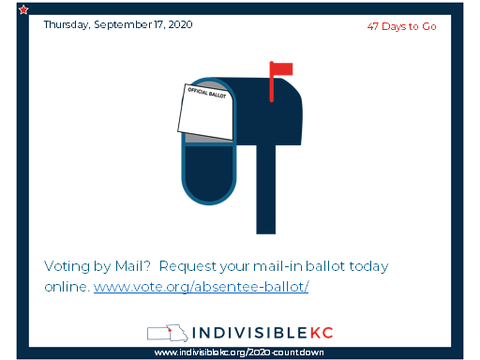 Voting by mail?  Request your mail-in ballot today online. www.vote.org/absentee-ballot/