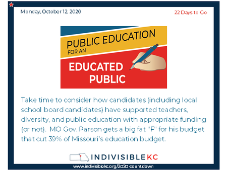 Some local school boards elections will be included on the November ballot.  Make sure you know what your choices are. Ballots based on you address are (or will be) available here: www.ballotready.org/ or on your county or local election authority website