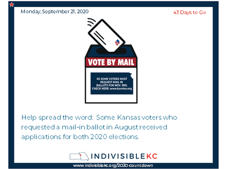 Check your Kansas voter status at www.ksvotes.org.