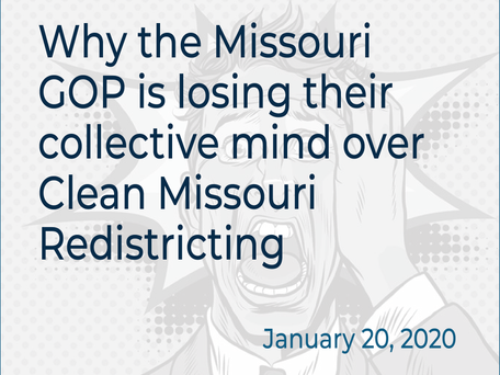 Let's talk redistricting for a second.