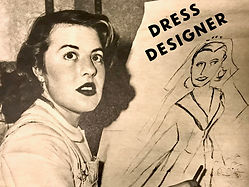 Dress designer wedding retro vintage.