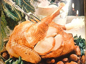 Turkey for christmas.