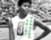black athlete shirt number.