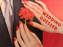 Groom corsage bride weddings gameshow.