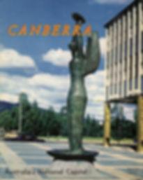 A postcard of canberra in Australia.