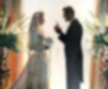 Wedding proposal Bride and groom wedding gameshow.