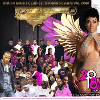 Krush Nigh Club - St. Thomas, VI