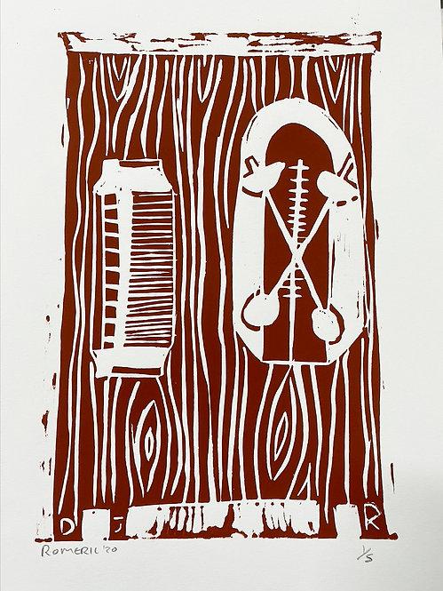 Harmonica and metronome, 2020